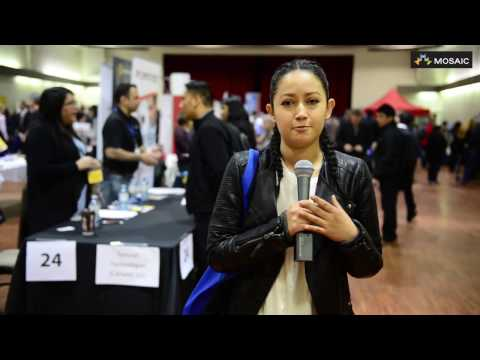 My Experience has been great! Attendee shares thoughts on MOSAIC's Career & Job Fair