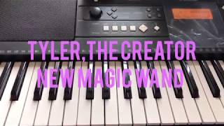 Tyler,The Creator--New Magic Wand Piano Tutorial