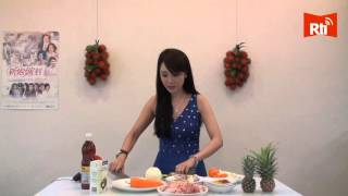 Helen Thanh Dao huong dan cach lam mon ca ri ga