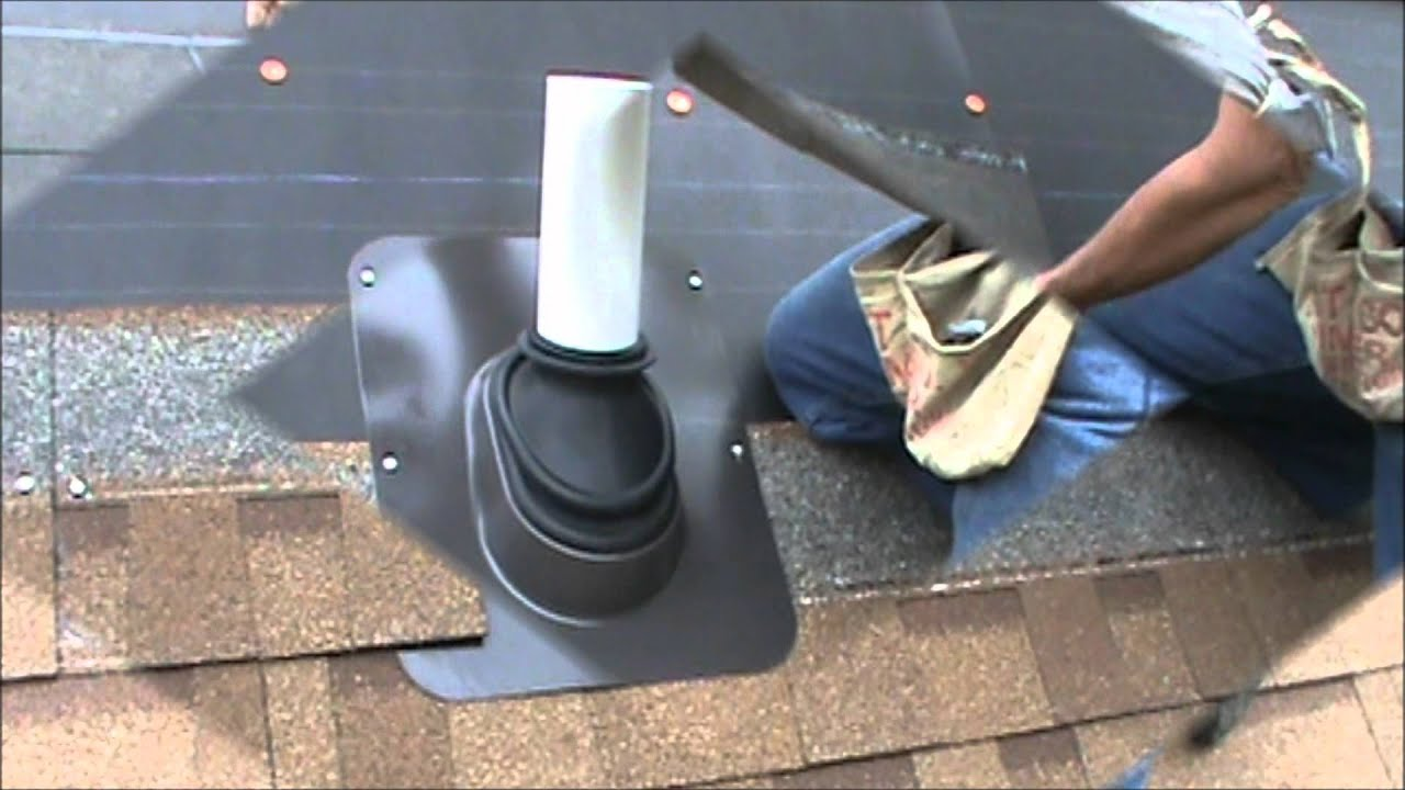 Lifetime Tool Ultimate Pipe Flashing Fitting Installation