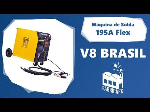 Máquina de Solda Flex MIG195 BR V8 Brasil - Vídeo explicativo