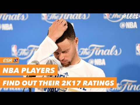 NBA Players find out their 2K17 Ratings
