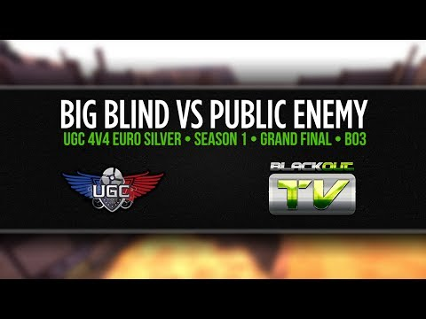 UGC 4v4 Season 1 Grand Final: Big Blind vs Public Enemy