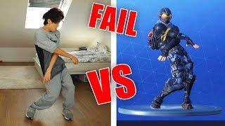 Fortnite Tänze in Real Life FAILS Season 4 Edition   Gong Bao