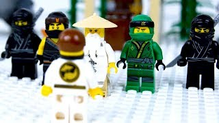 LEGO Ninja School STOP MOTION Back To School | LEGO Ninjago | By LEGO Worlds