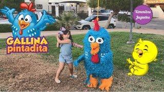 Piñata pinata de la gallina pintadita