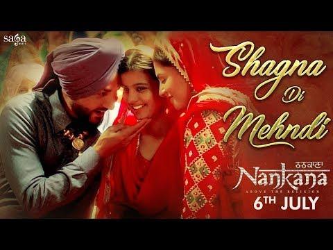 Shagna Di Mehndi Lyrics - Gurdas Maan, Sunidhi Chauhan | Nankana (Punjabi Movie)