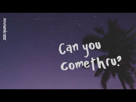 Jeremy Zucker - comethru (Lyric Video)