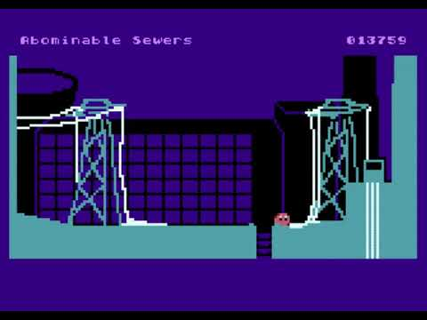 FloB (Atari) nivel 2 - walkthrough completo