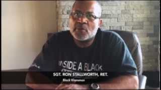 Sgt. Ron Stallworth, Ret.   Black Klansman  Viral Rap Video