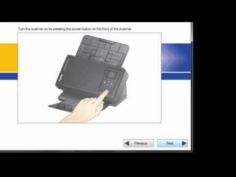 Configure Scanner for Wireless Directly from Installation CD Preview