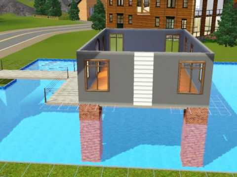 How To Build A Bridge Over Water In Sims