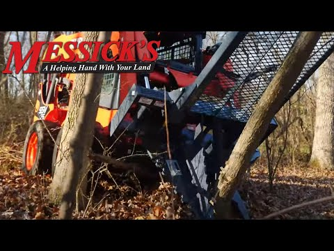 Land Clearing with a tree puller by Precision Manufacturing Picture