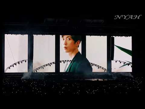 (FANCAM) 고마워 미안해 VCR (Together Forever VCR) @ 181013 Forever 'High-five Of Teenagers' Concert