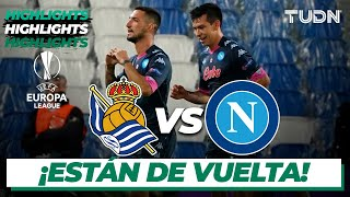 Highlights | Real Sociedad vs Napoli | Europa League 2020/21 - J2 | TUDN