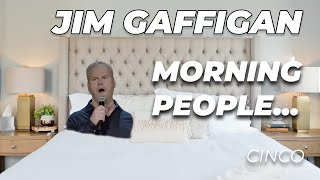"""I'm not a Morning Person..."" - Jim Gaffigan Stand up (Cinco)"