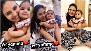 Anchor Sreemukhi shares cute moments with girl, adorable..