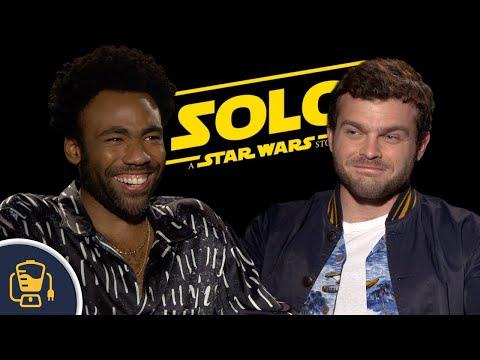 Watch Solo Cast Decide Who Is The Better Pilot, Luke Skywalker or Han Solo