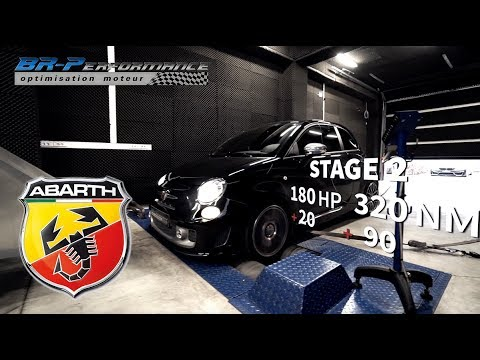 Abarth 595 Turismo 1.4 T-Jet Stage 2 By BR-Performance