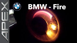 BMW brakes on fire!! What is wrong here??!! (2018)