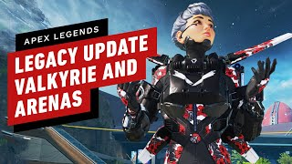 Apex Legends: Legacy - All Valkyrie abilities, Arenas Gameplay, & Bocek Details