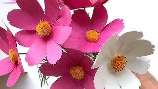 How to Make Paper Flower Cosmos with Your Cricut Explore or Silhouette Cutting Machine