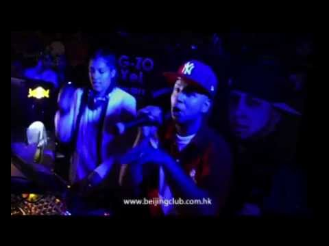 MC G-ZO & DJ Exel at Beijing Club