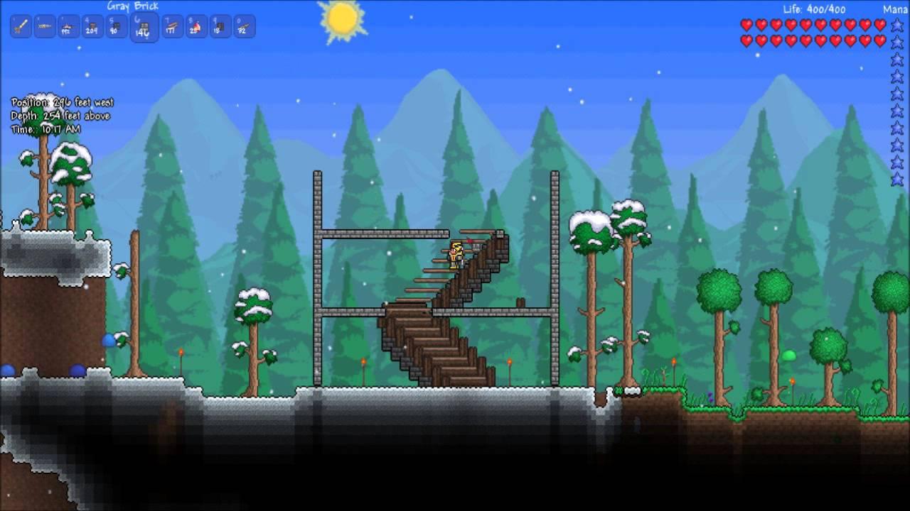 Terraria Tutorial Stairs Youtube