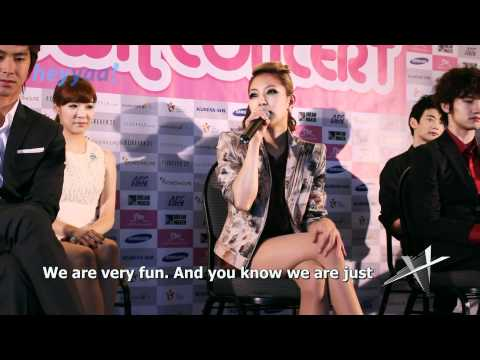 SMTown LA Press Conference (Part 1) BoA, Kangta, and SM President (English sub) - heyyaa! HD