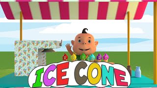 Nursery Folks : Learning Colors With Ice Cream Cones