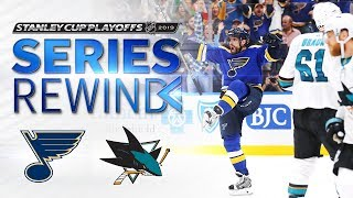SERIES REWIND: Blues dispatch Sharks in six to clinch Stanley Cup Final berth