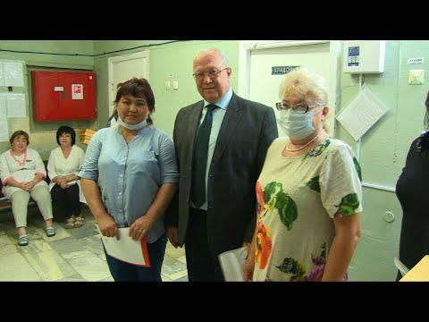 Чествование сотрудников Быковской центральной больницы