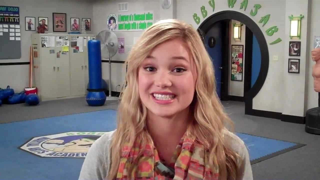 "Behind The Scenes Of ""Kickin' It"" with Olivia Holt (Kim ..."