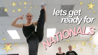a week in my life before NATIONALS (dance classes and rehearsals vlog!)