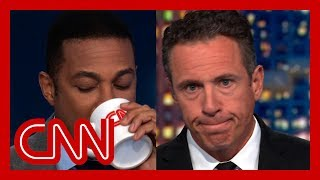Lemon and Cuomo reenact Trump's 13 seconds of silence