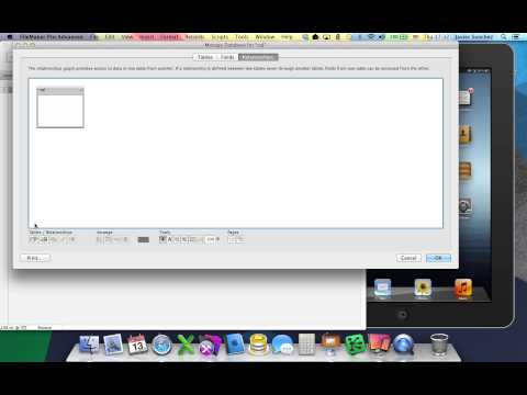 SQL to FileMaker to iPad in 60 Seconds