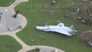 Tyndall Airforce Base Hurricane Michael Aftermath - Panama City, FL - 10/11/2018