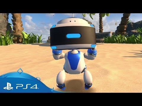 Astro Bot Rescue Mission | Live The Game | PSVR