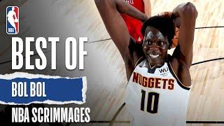 Best Of Bol Bol | NBA Scrimmages