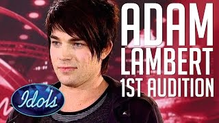 Adam Lambert Sings Queen Bohemian Rhapsody In First Audition On American Idol | Idols Global