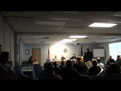 Town of Plattsburgh Planning Board Meeting part one  2-18-20