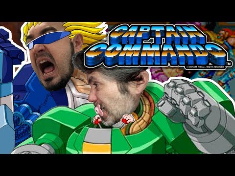 2x12 Captain Commando (VS Aratz) (Arcade)