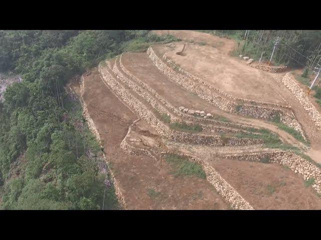 阿里山土石流 空拍發現濫墾