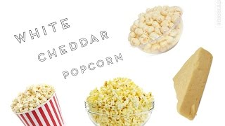 HOW TO MAKE WHITE CHEDDAR POPCORN-DIY-