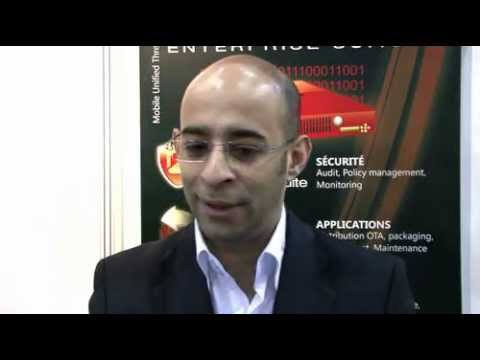 MOBIQUANT TECHNOLOGIES - Reda ZITOUNI -  INFOSECURITY EUROPE -- Mobile Security Management