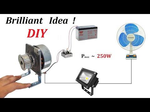 Make a 24v 250W Alternator from Old Fotocopy Mashine Motor to Charge 12v 35Ah Battery