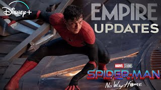 Spiderman No Way Home Updates   Spiderman Runtime and Empire Cover Explained