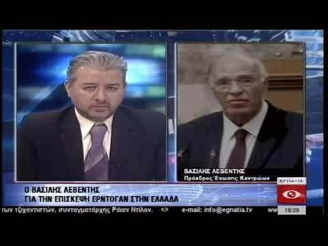 Β. Λεβέντης / Δελτίο ειδήσεων, Εγνατία Τηλεόραση / 6-12-2017