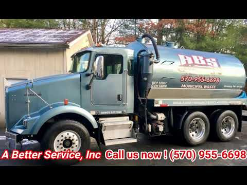 Septic Tank Pumping in Greeley, Pennsylvania