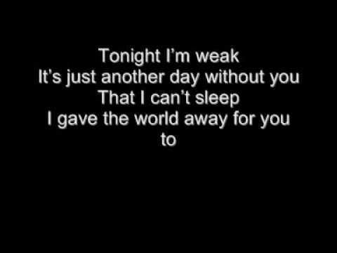 The All-American Rejects - I Wanna + Lyrics